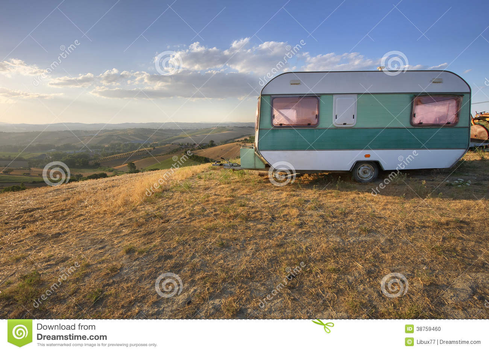 Caravana do vintage