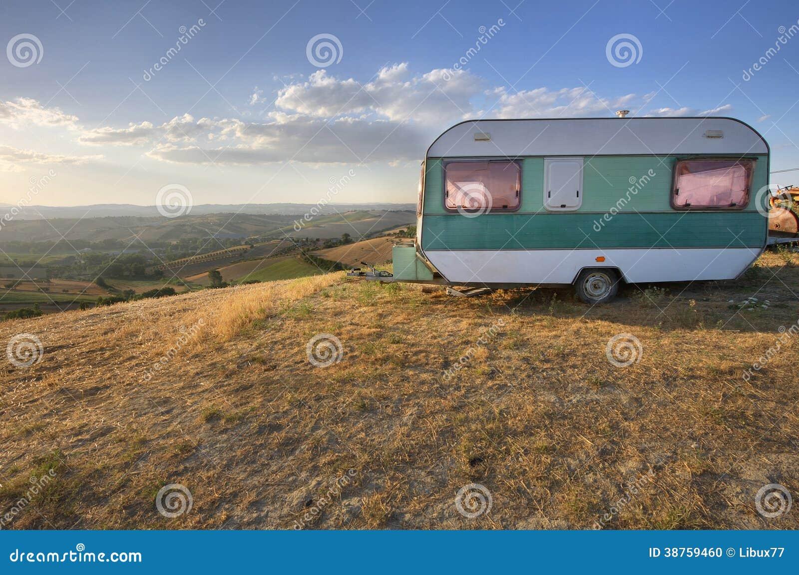 Caravane de vintage