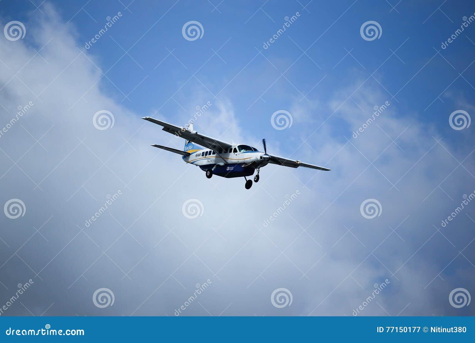 Caravane grande 208B de HS-KAB Cessna de Kanair