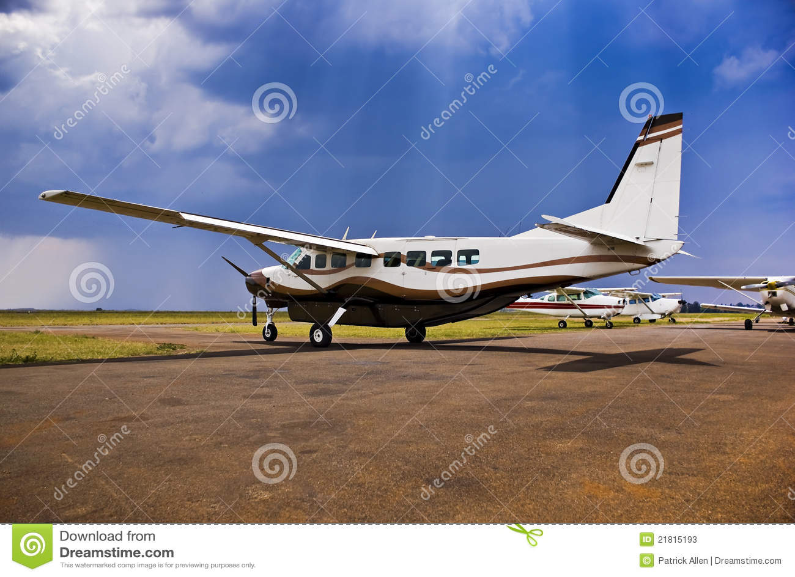 Caravane grande C-208B de Cessna