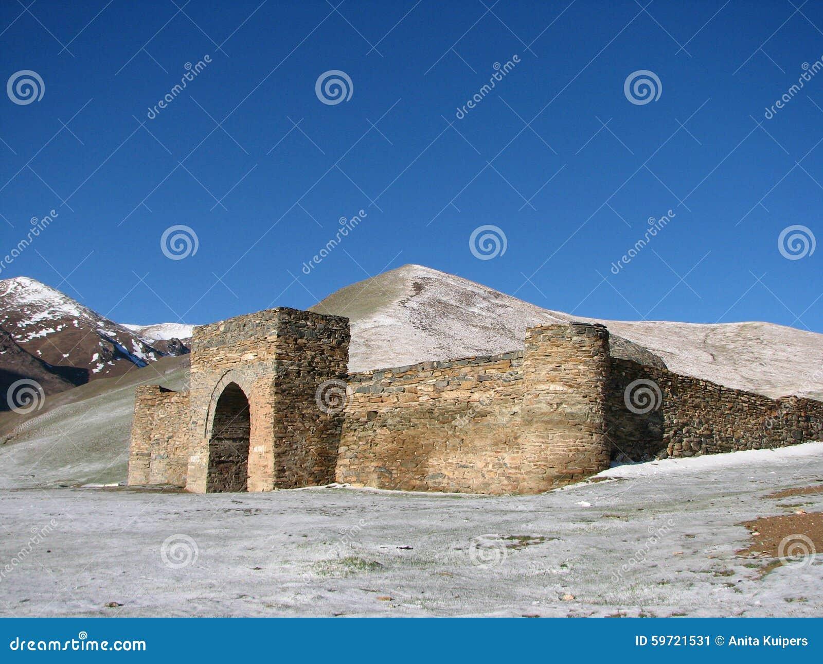 Caravanserai Tash Rabat in Kirgisistan
