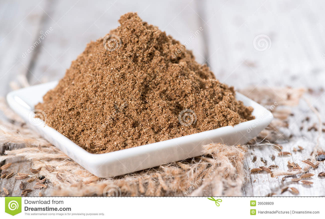 Caraway Powder in a bowl
