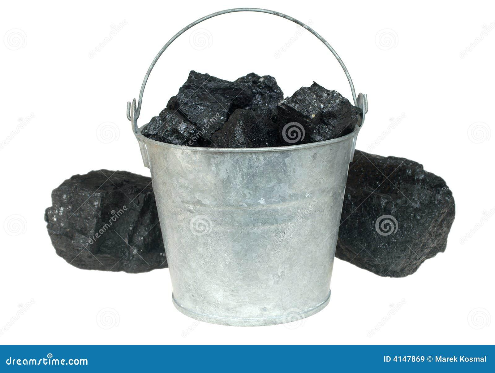 Carbón en compartimiento