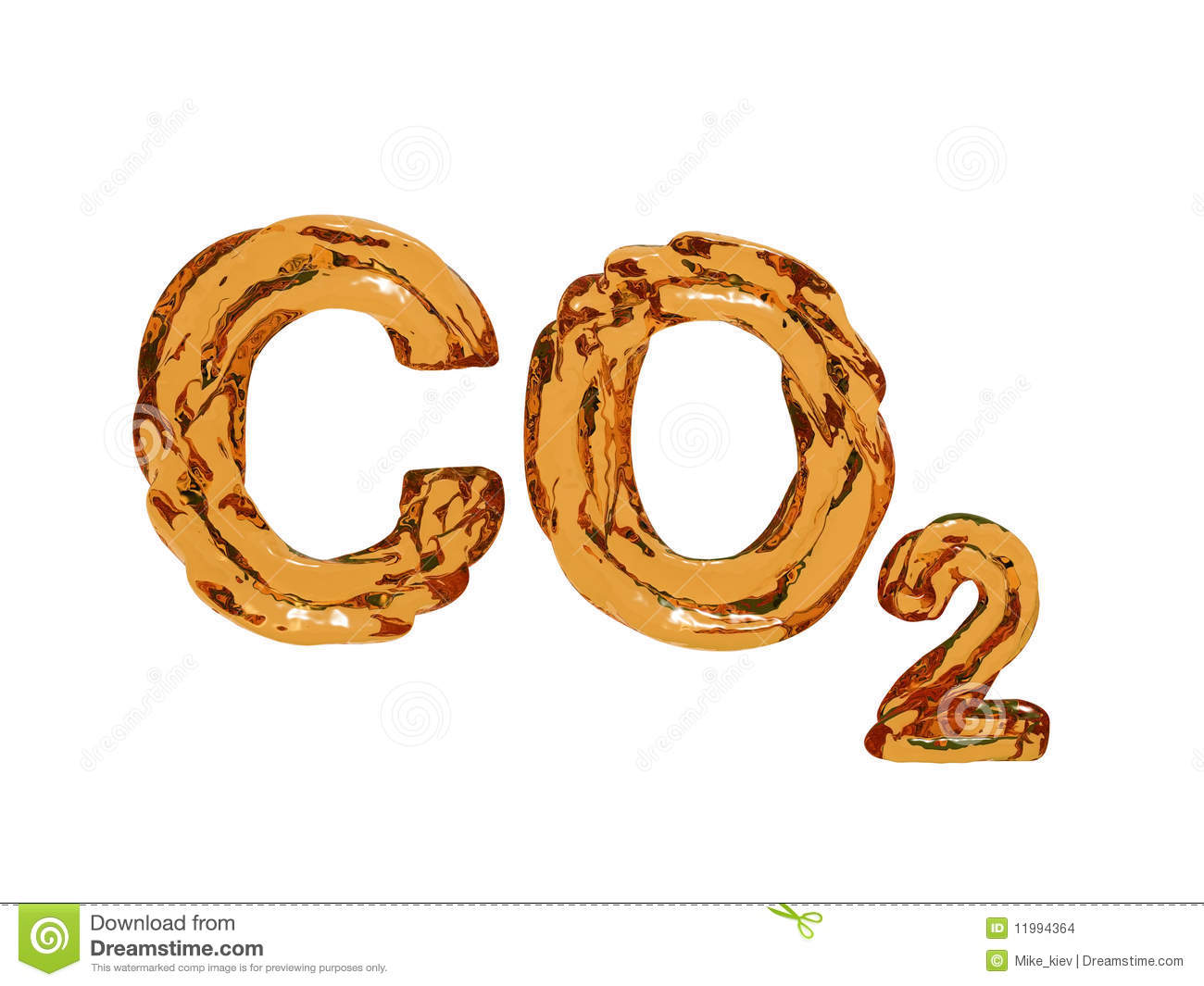 how to write chemical formula of carbon dioxide