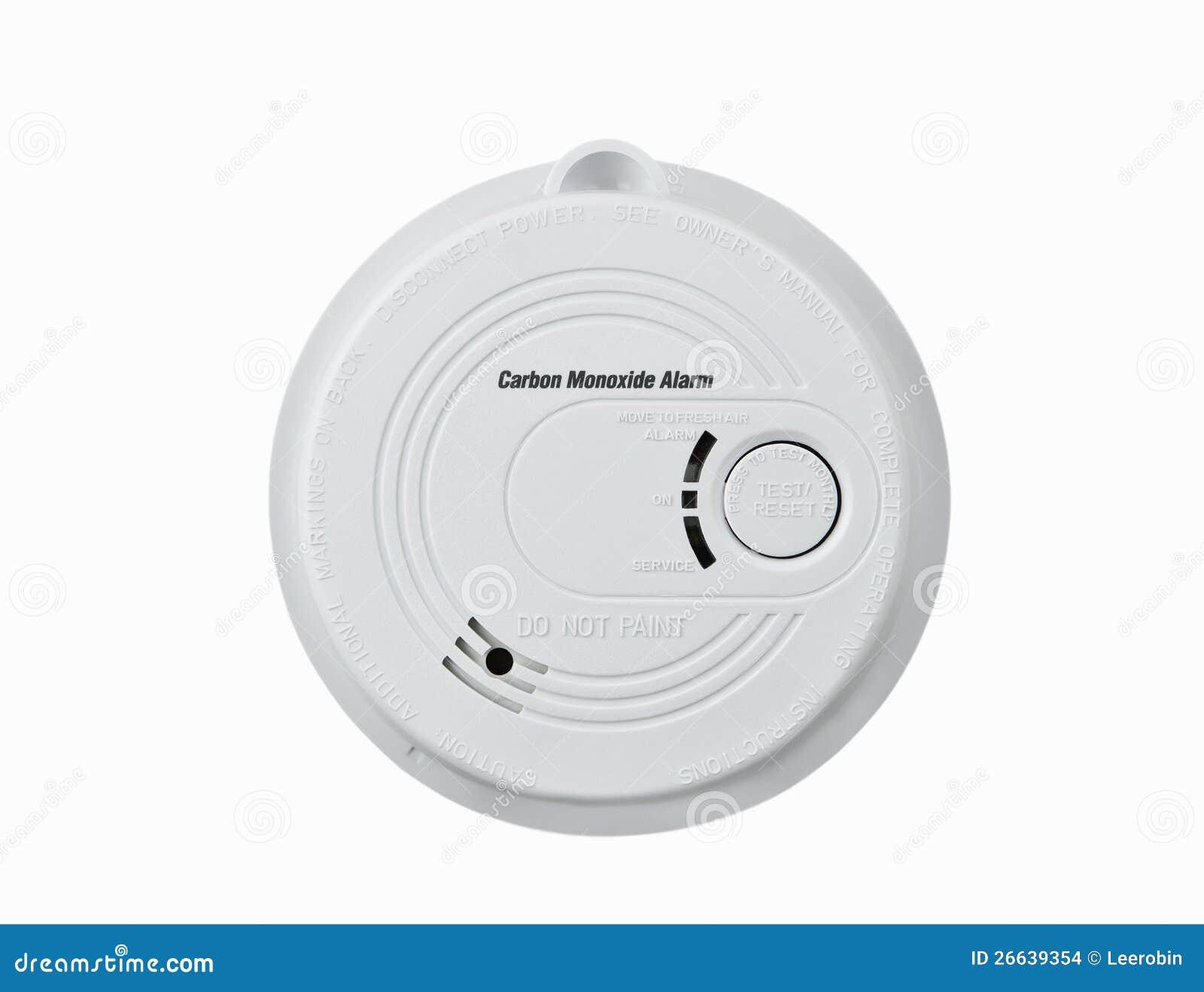 carbon monoxide alarm stock images image 26639354. Black Bedroom Furniture Sets. Home Design Ideas