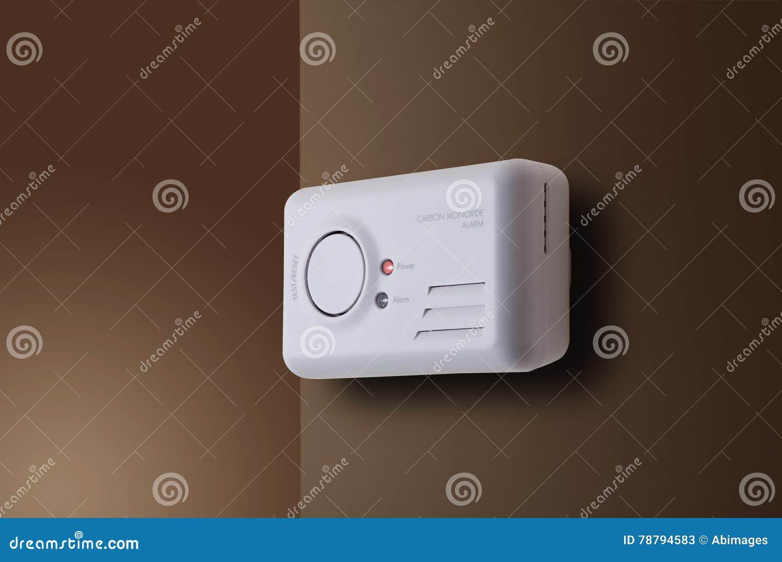carbon monoxide alarm stock photo image 78794583. Black Bedroom Furniture Sets. Home Design Ideas