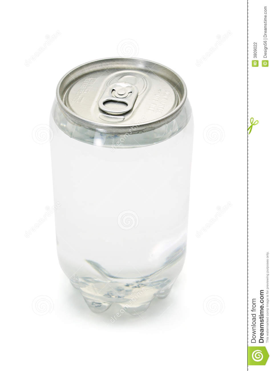 Carbonated drink in plastic can with metal top stock photography image 3809022 - Top plastic krukje ...