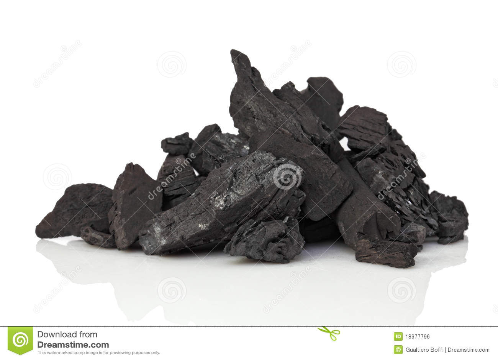 Carbone su bianco