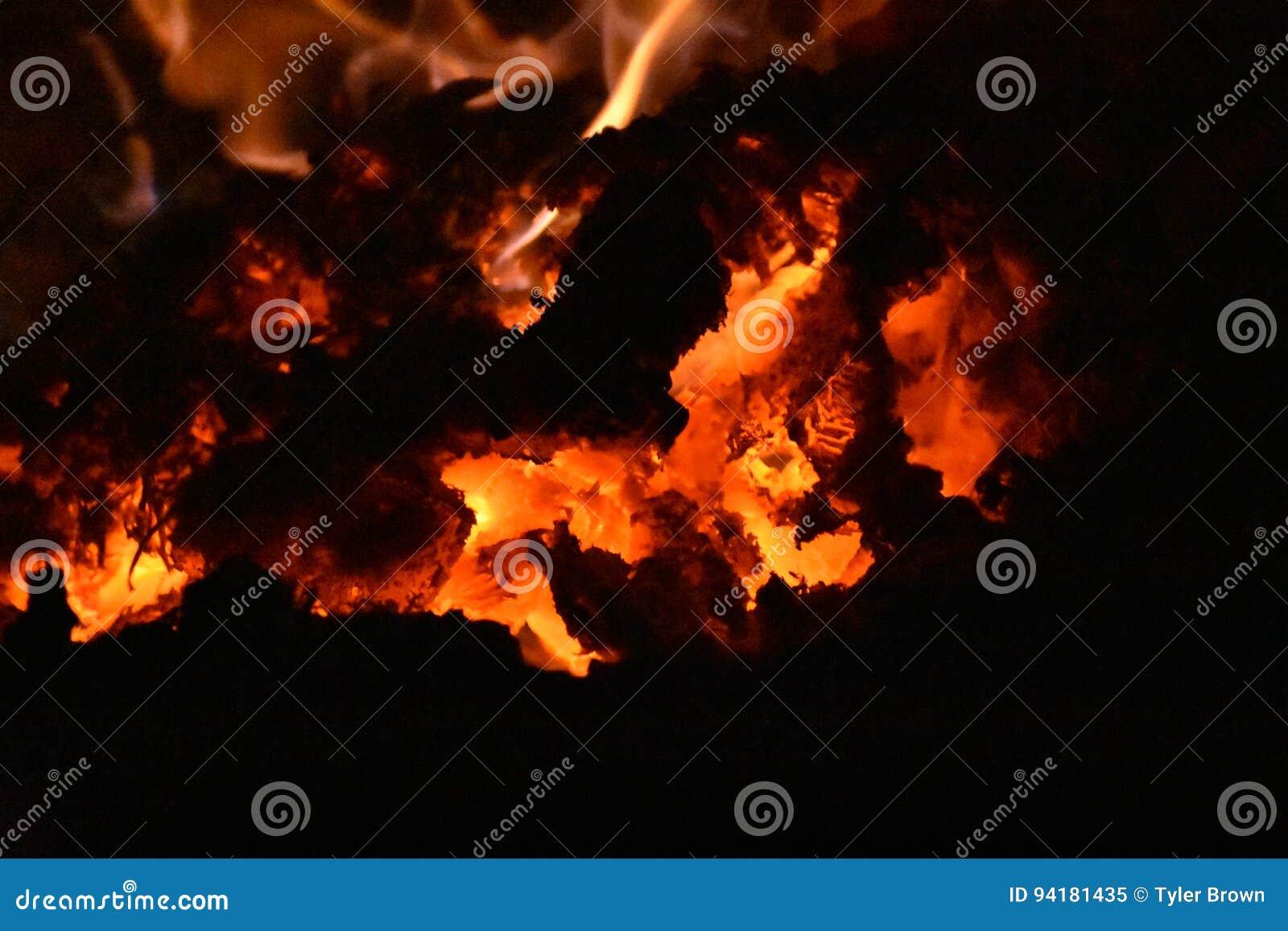 Carbones calientes