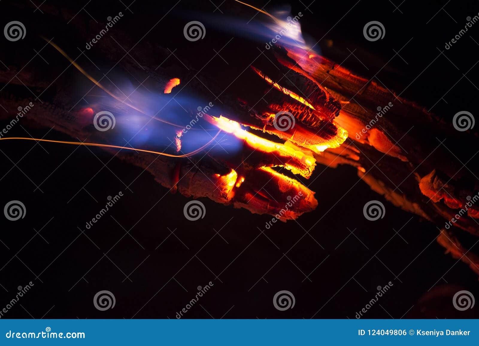 Carbones del fuego