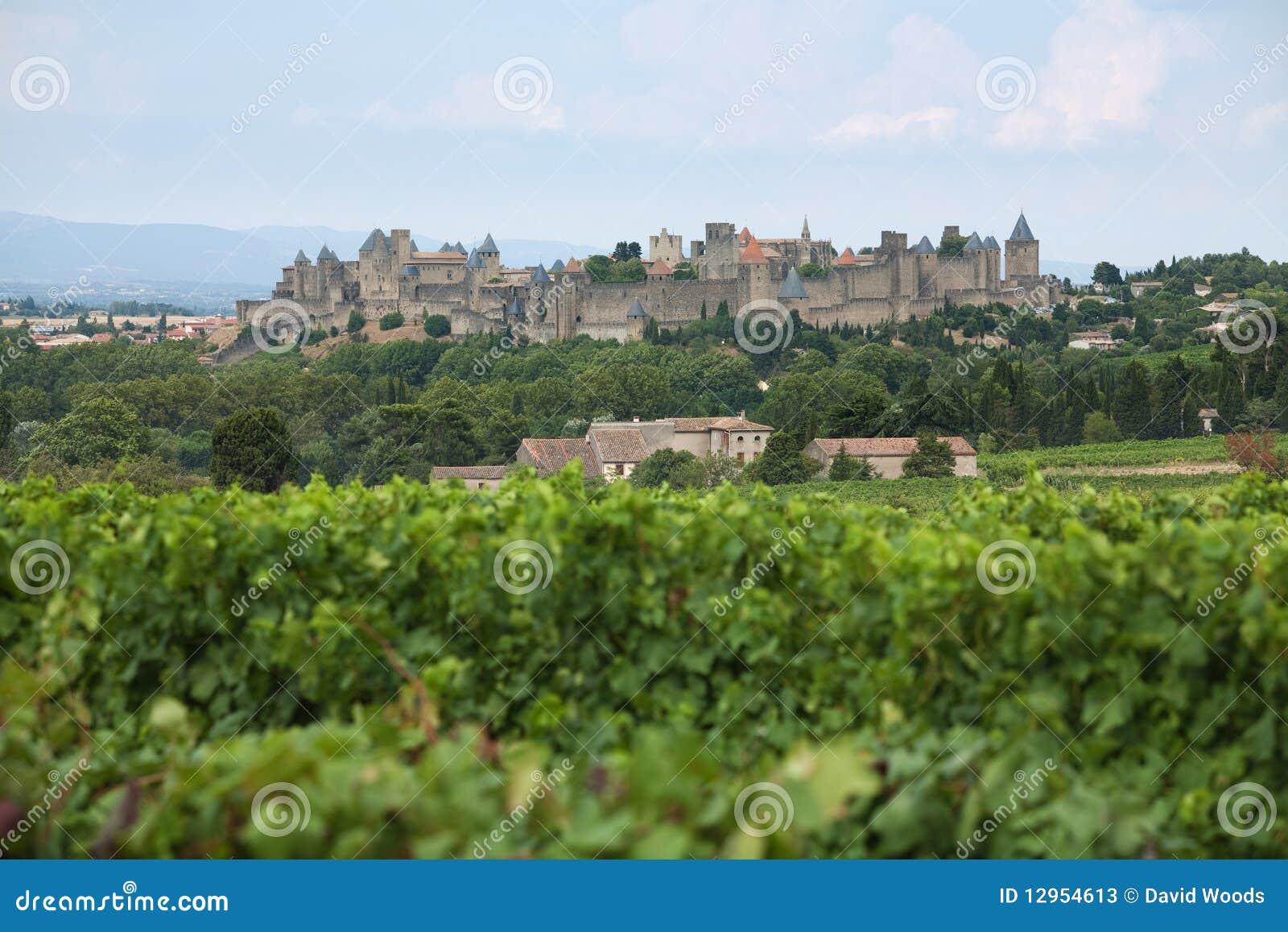 Carcassonne slott
