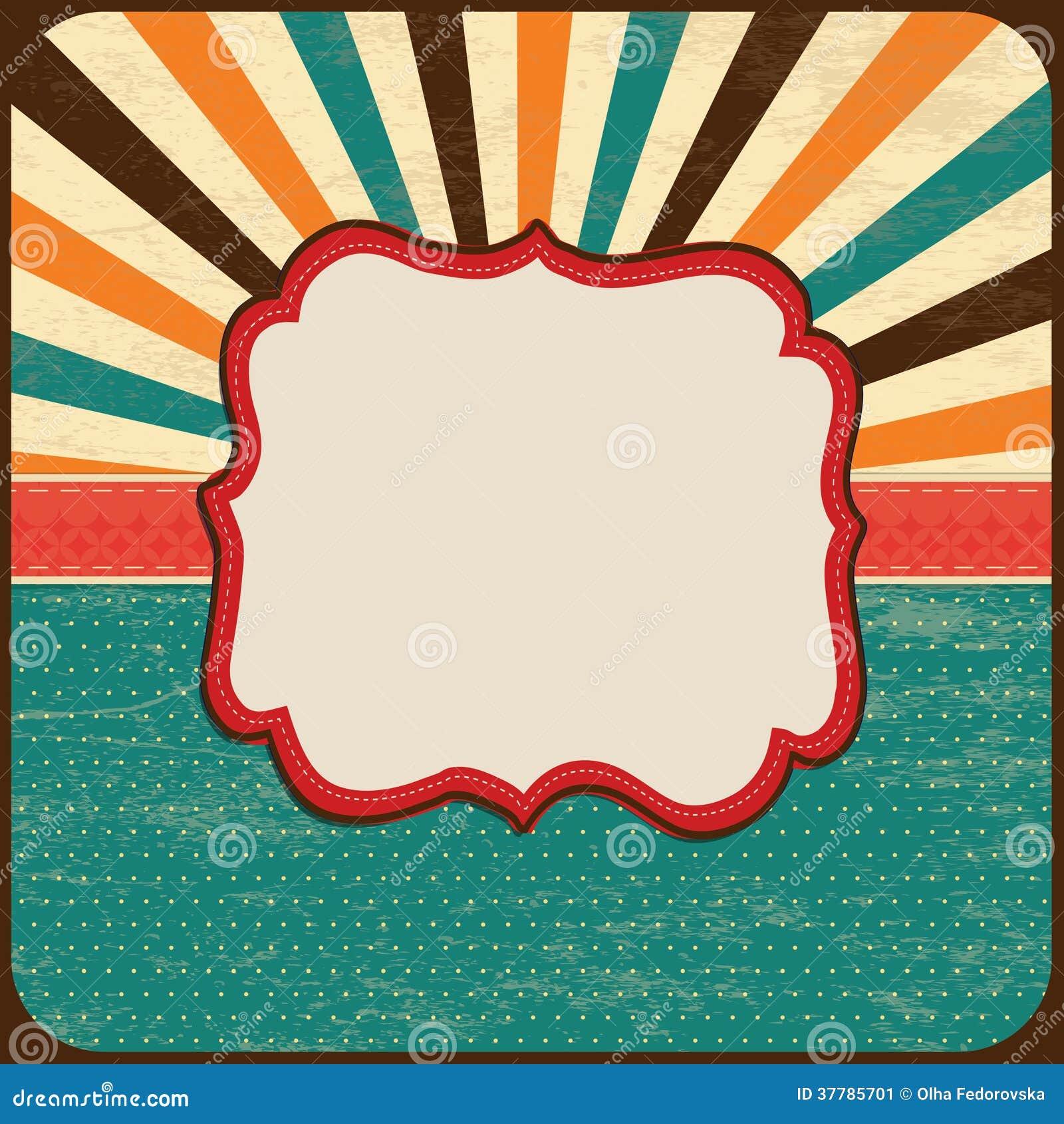 Card Background, Border Frame, Banner