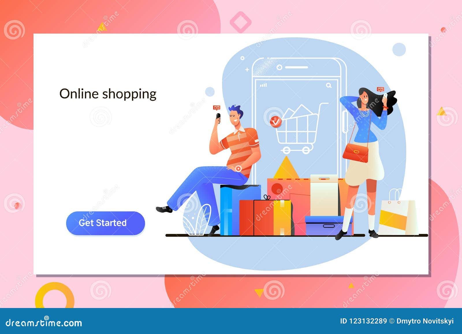 Card grund shopping för dof-fokushanden online mycket E-kommers och hemsändningbegrepp Peiole shoppar direktanslutet genom att an
