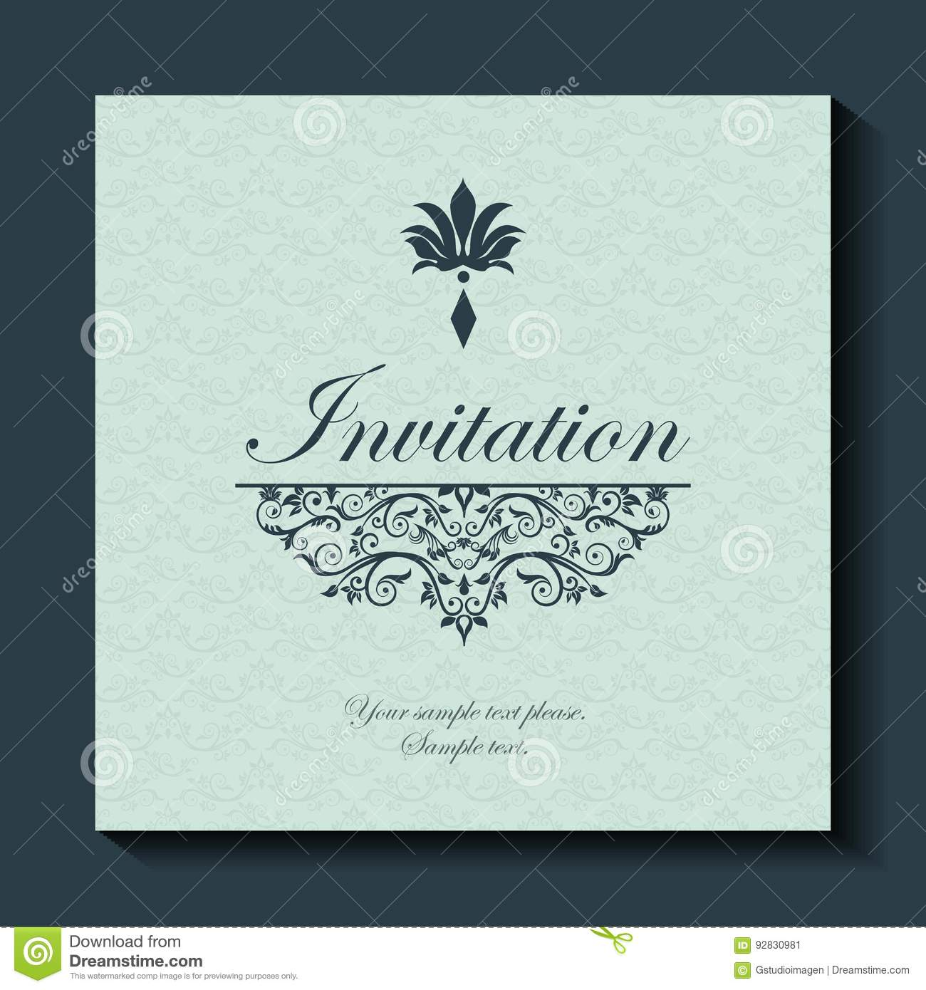 Card icon invitation and save the date design vector graphic stock invitation and save the date design vector graphic stock vector stopboris Image collections