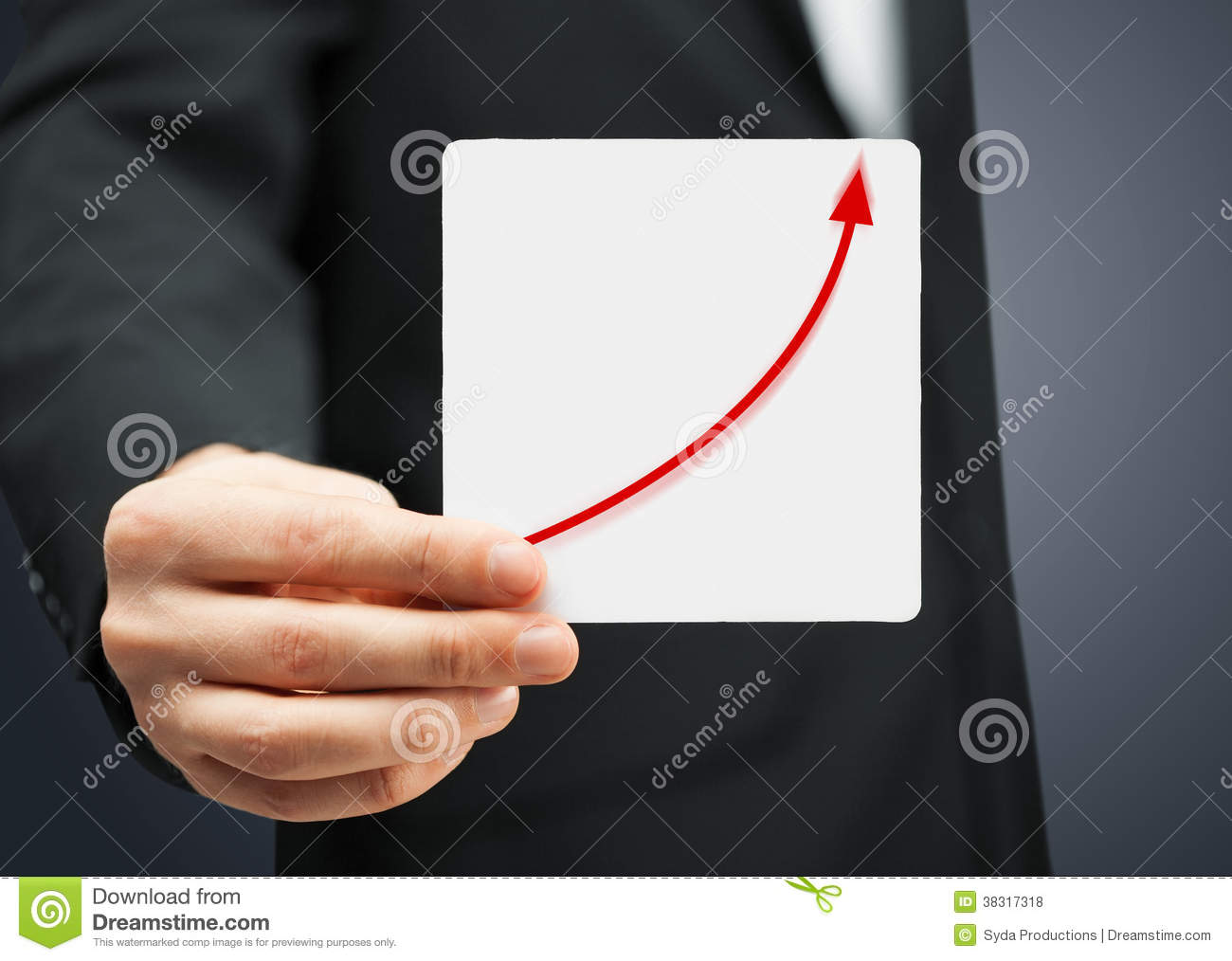 Drawing Line Graphs By Hand : Hand drawing an increasing bar line graph royalty free