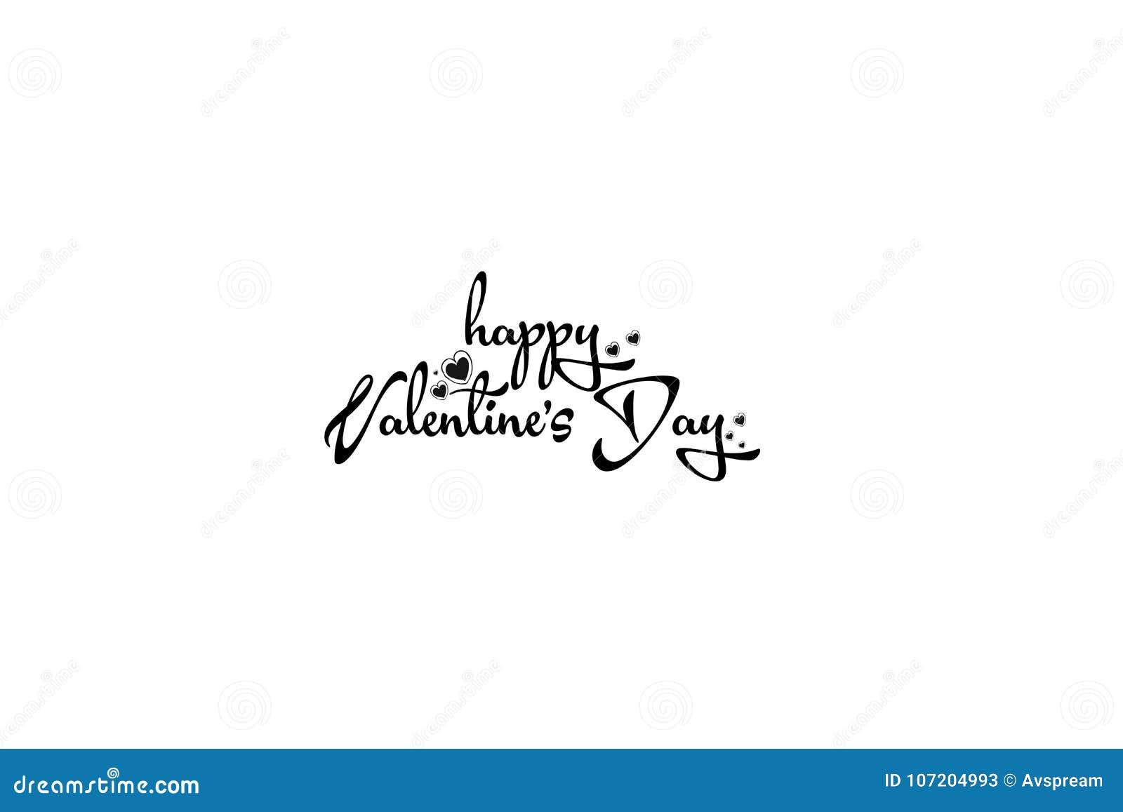 Card lyckliga hjärtor för dagen som älskar valentinen för s två Lycklig bokstäver för dag för valentin` s
