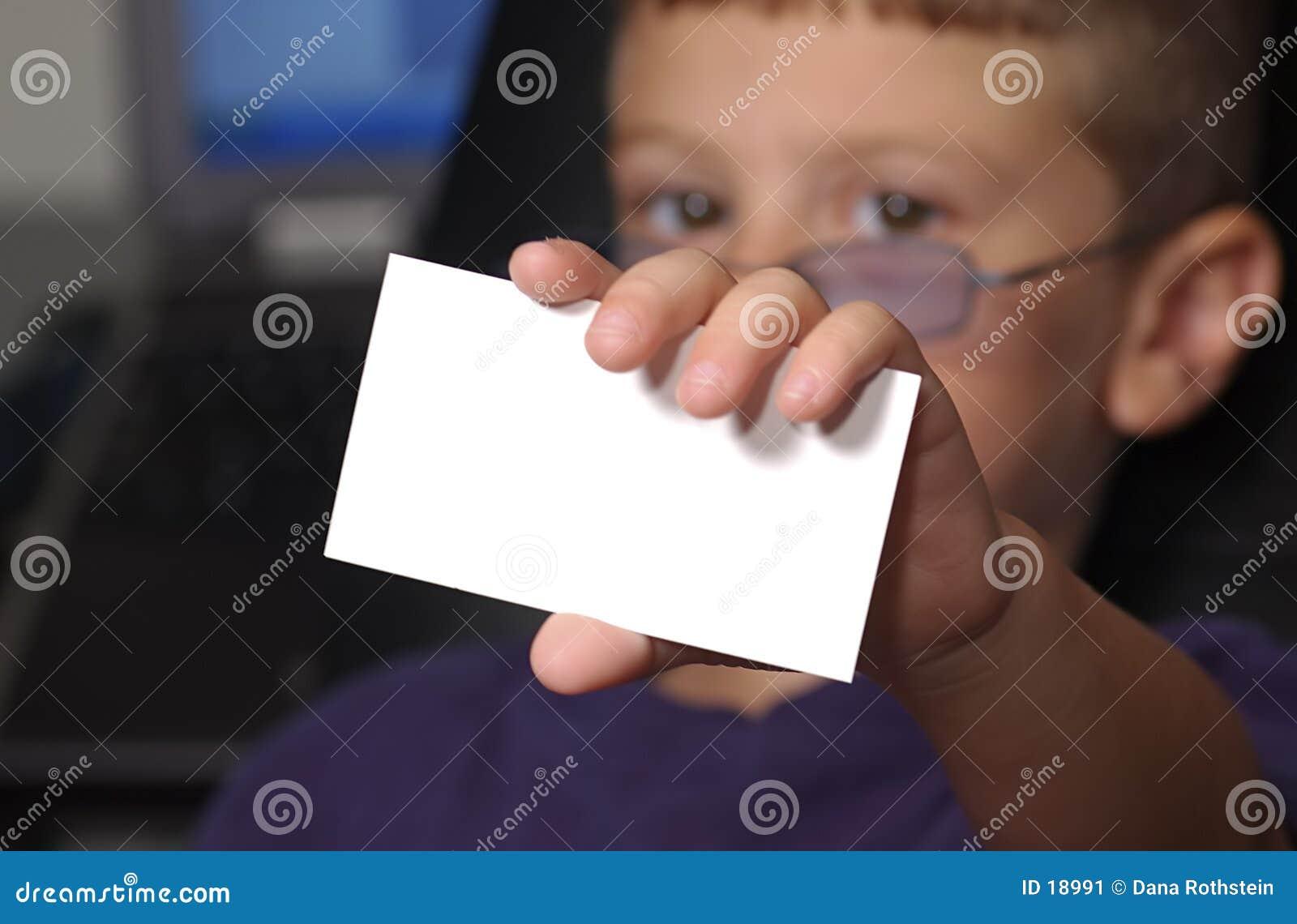 Card mitt