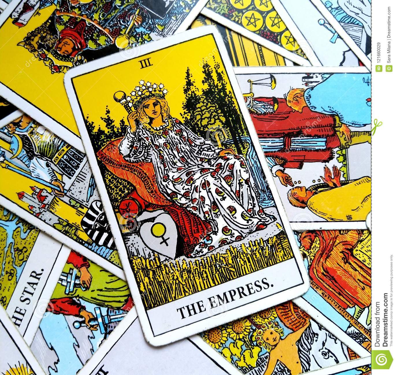 The Empress Tarot Card Mother Mothering Mother Earth Woman