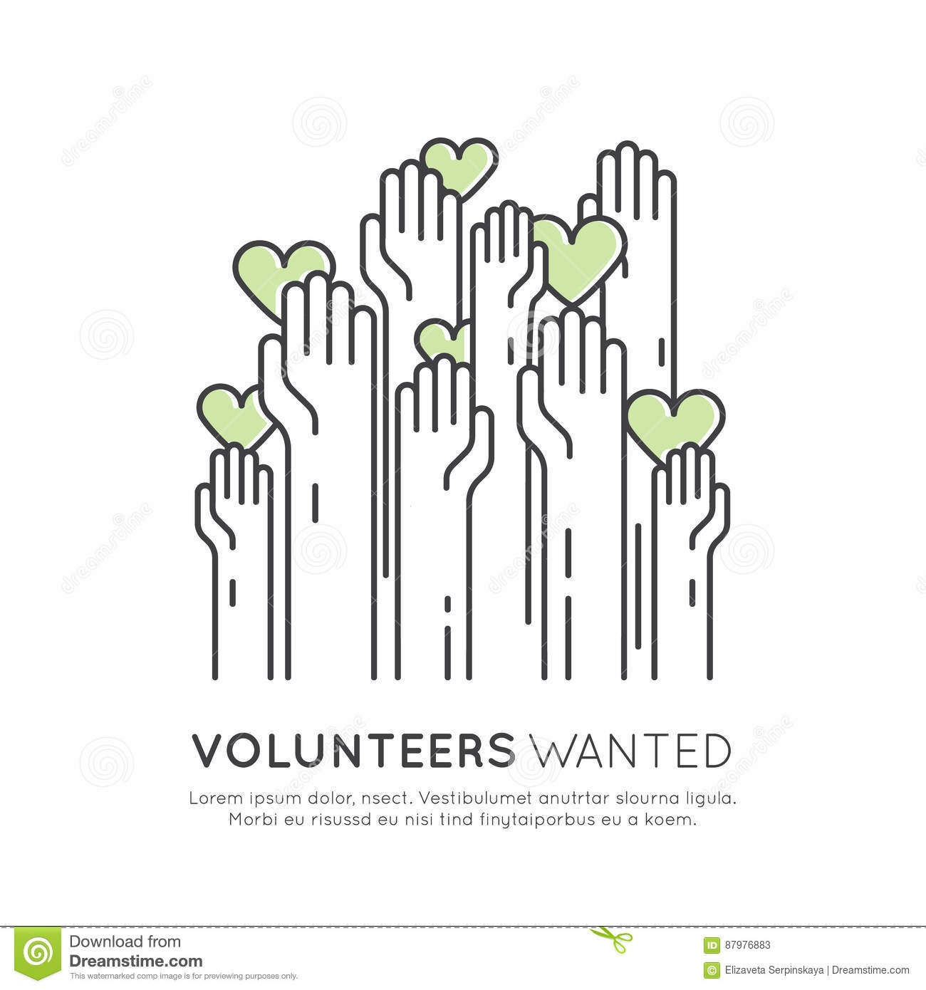 volunteers wanted poster template