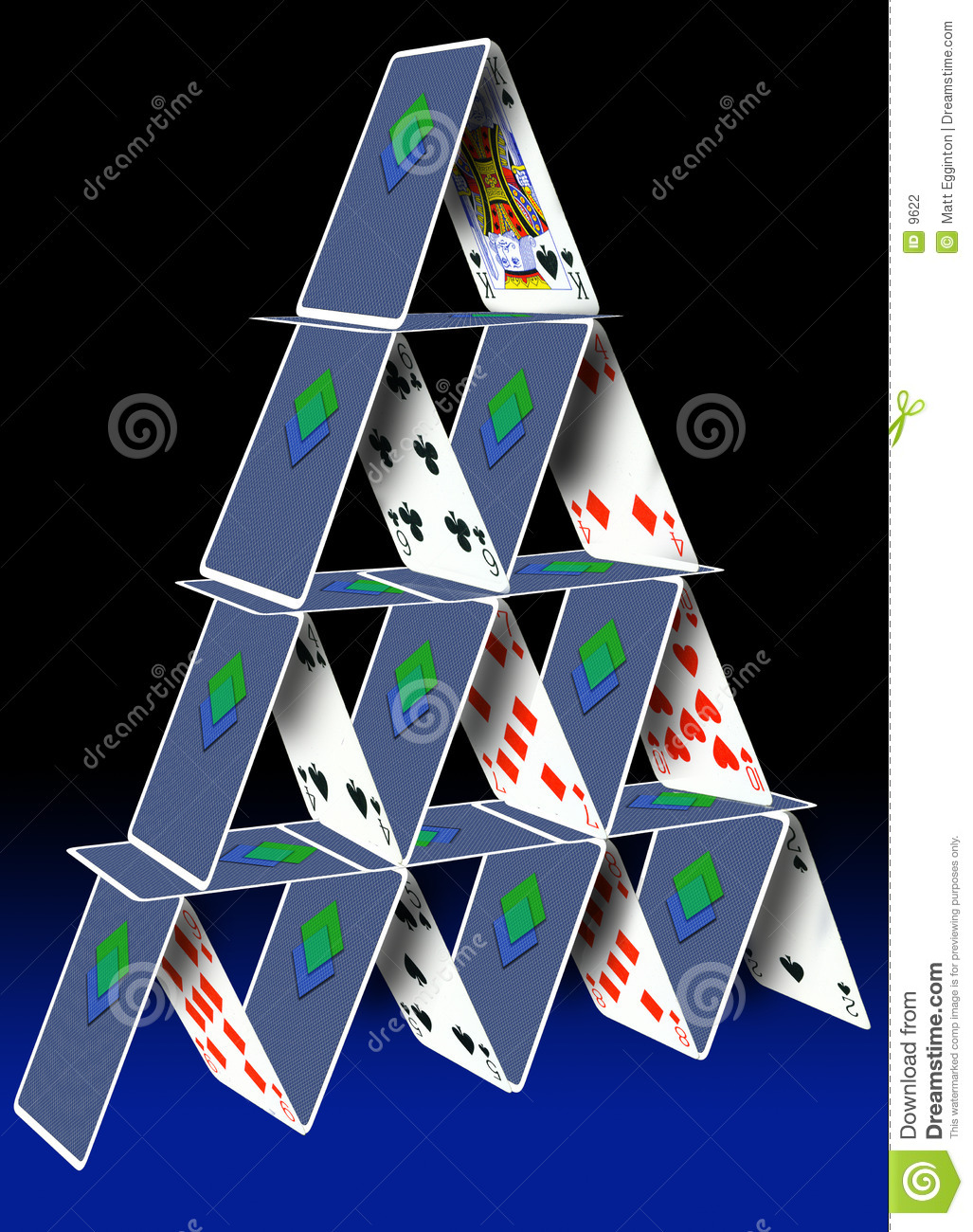 card stack stock photography image 9622 playing card vector free download playing card vector designs