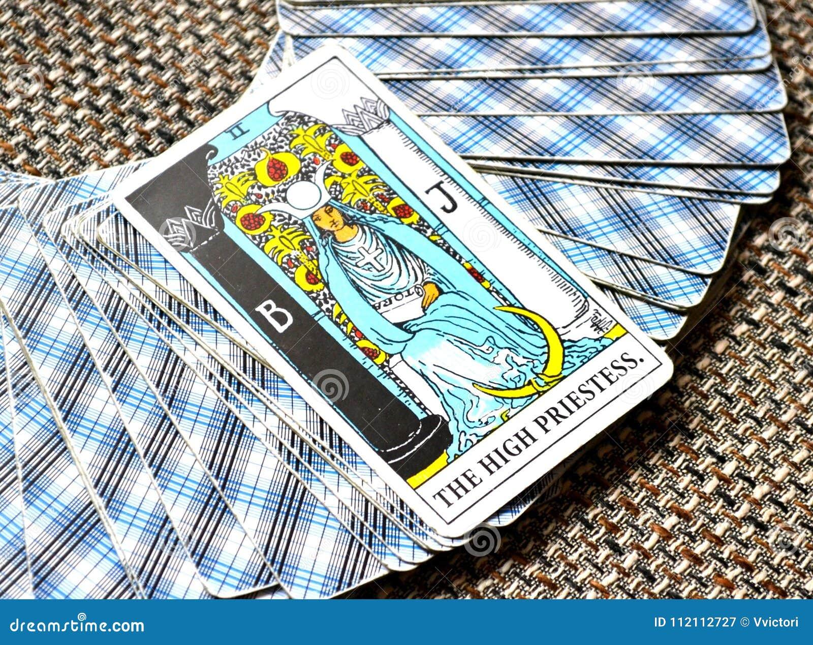 The High Priestess Tarot Card Subconscious, Higher-Self