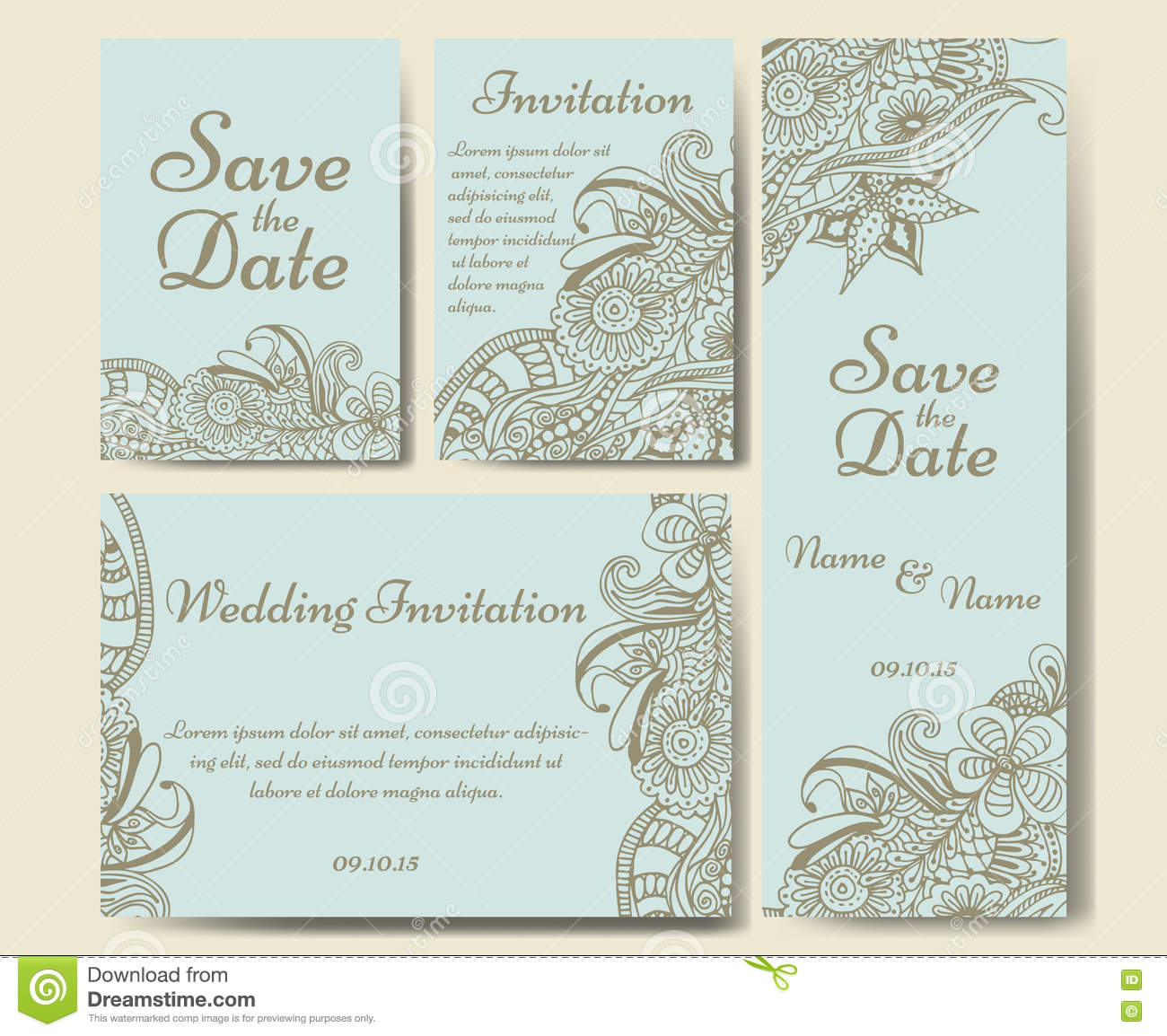 thank you wedding cards template