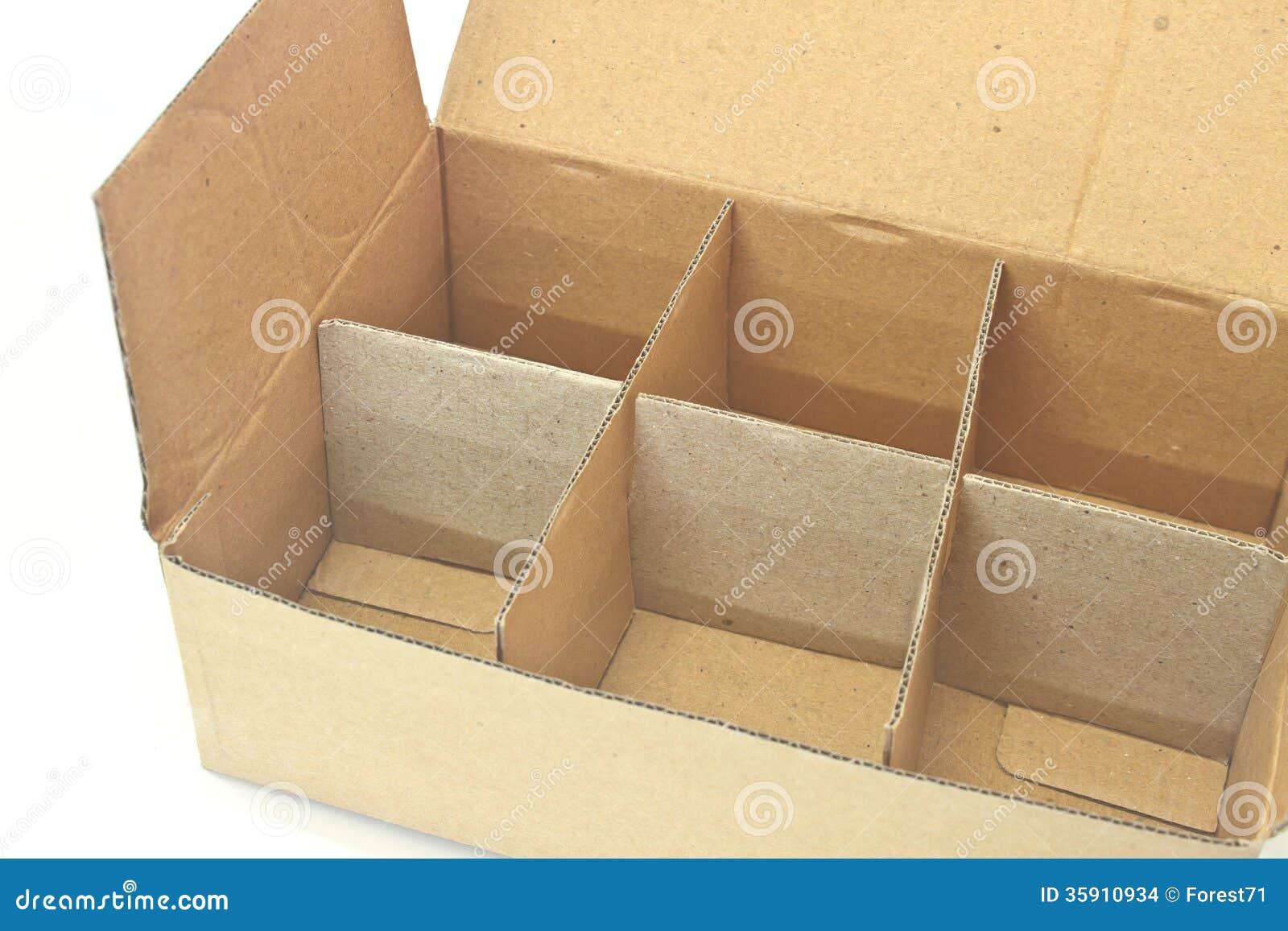 Cardboard Box Stock Images Image 35910934