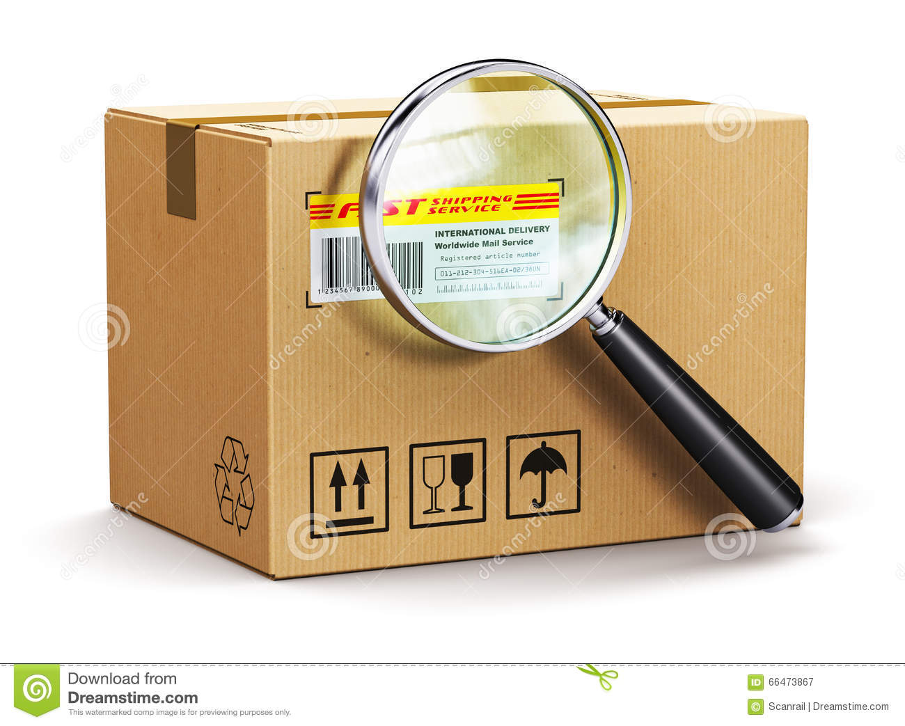 how to get a tracking number for a package