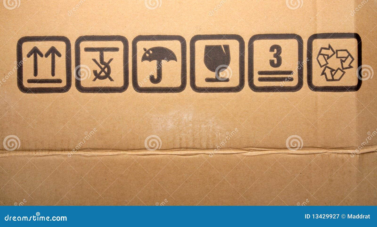 Cardboard box symbols stock photos 193 images cardboard box symbols fine image close up of grunge black fragile symbol on cardboard biocorpaavc Choice Image