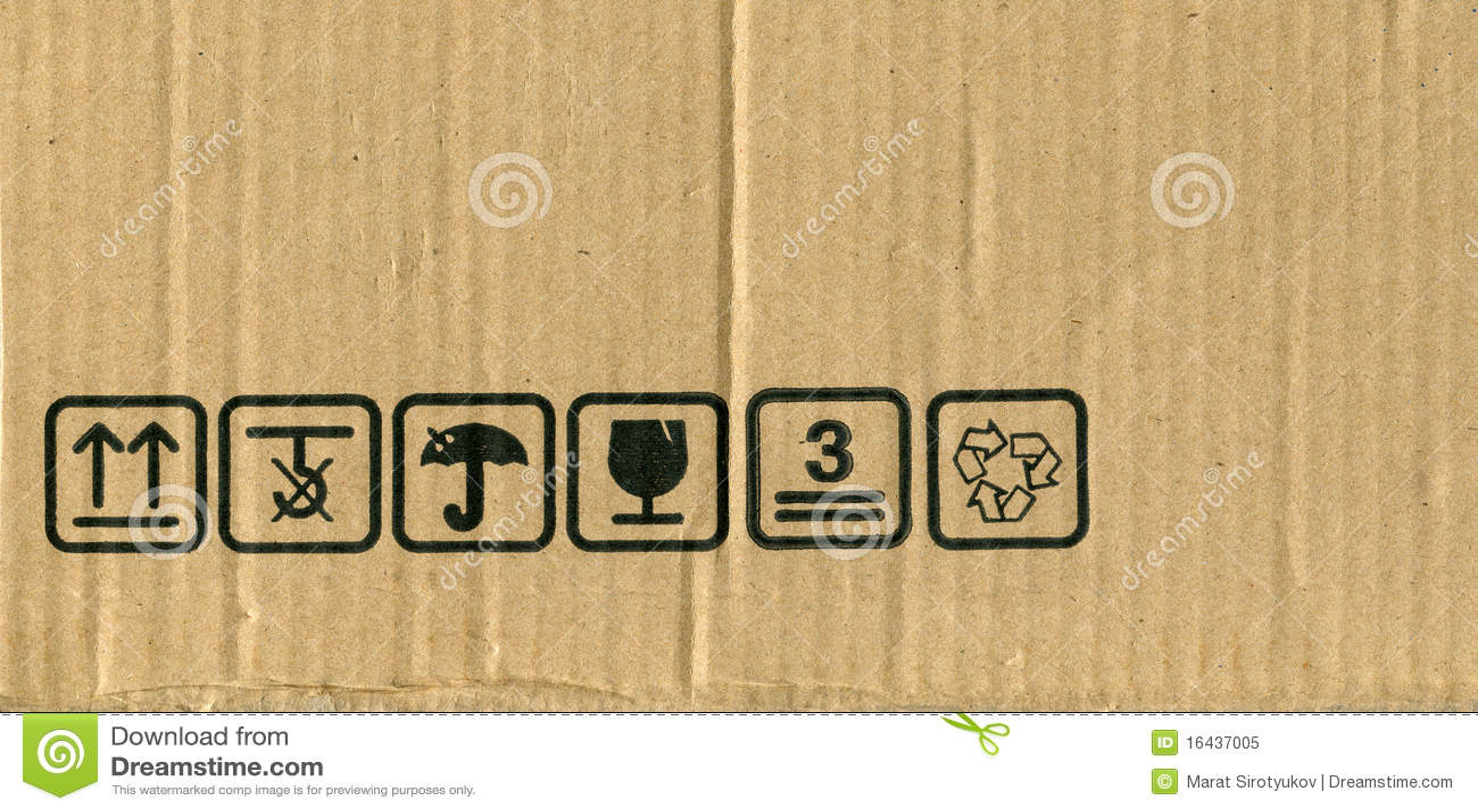 Cardboard box symbols stock photos 193 images biocorpaavc Choice Image