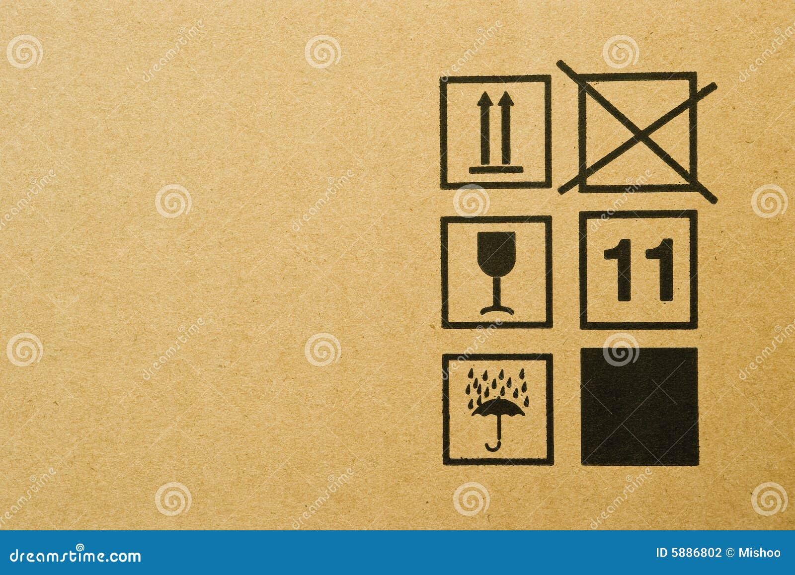 Cardboard box symbols stock photos 193 images cardboard box texture cardboard box background with mail symbols stock photography biocorpaavc Choice Image
