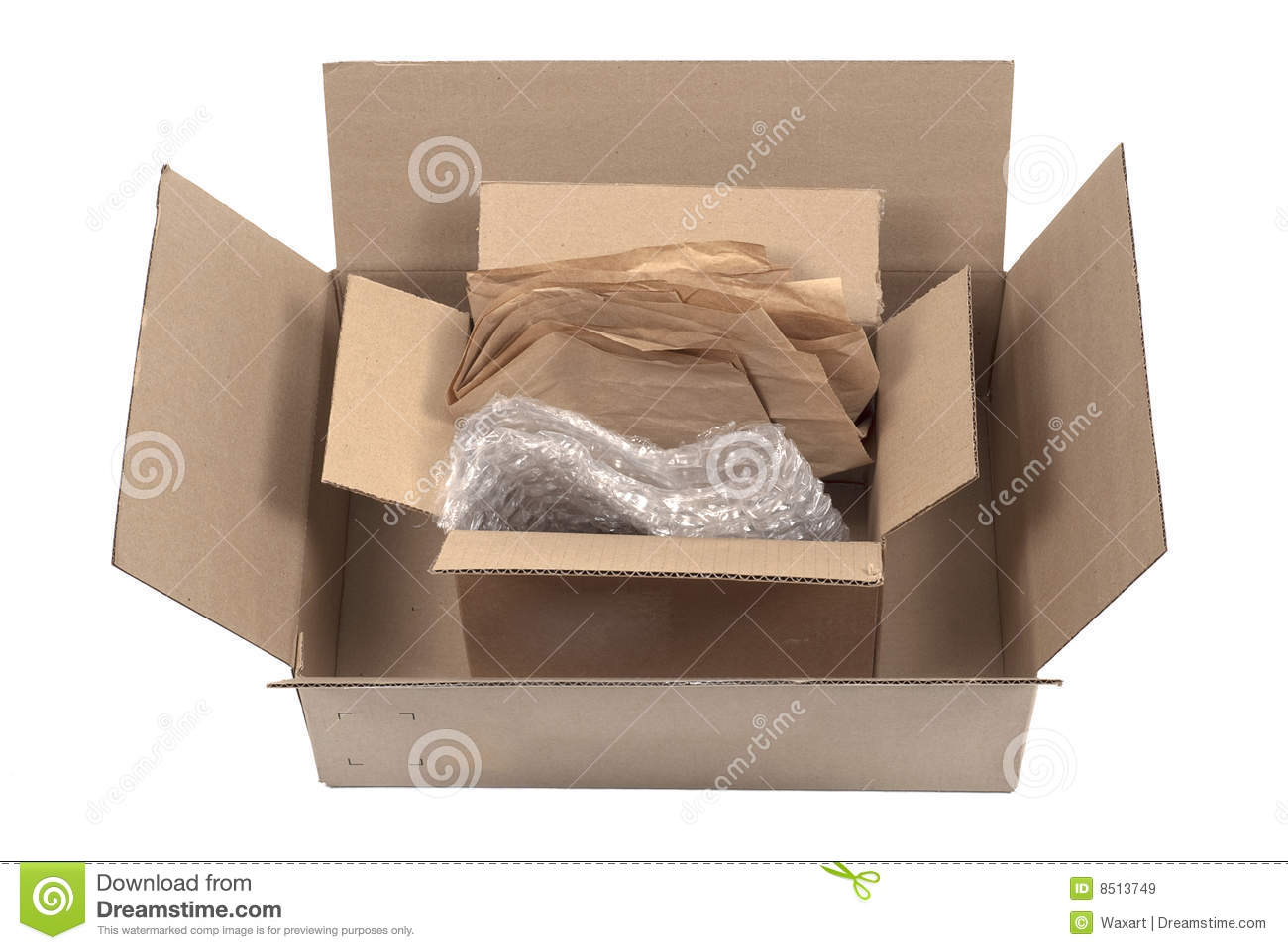 how to open and reseal cardboard with plastic packaging