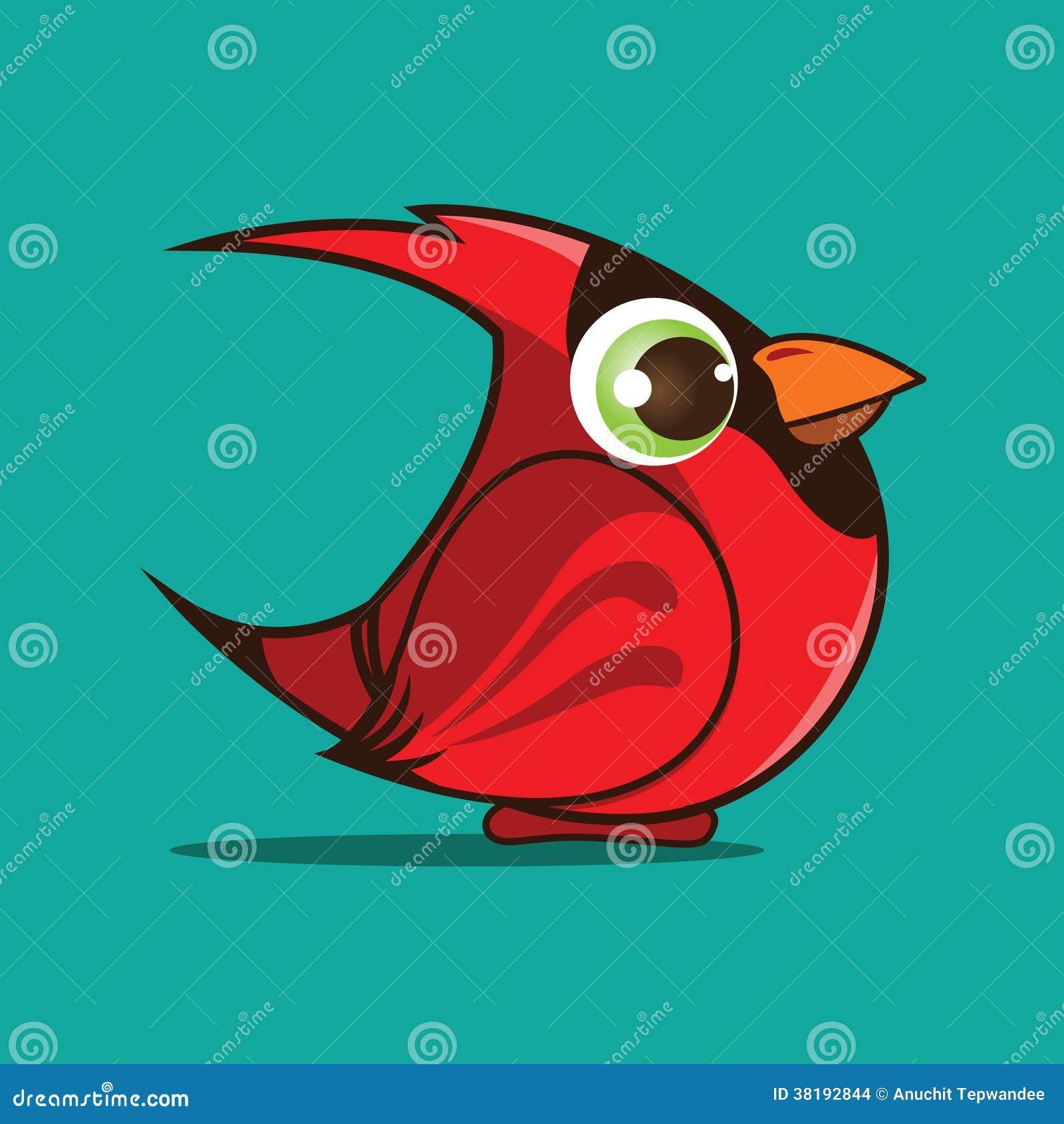 Cardinal Bird Cartoon Stock Images - Image: 38192844