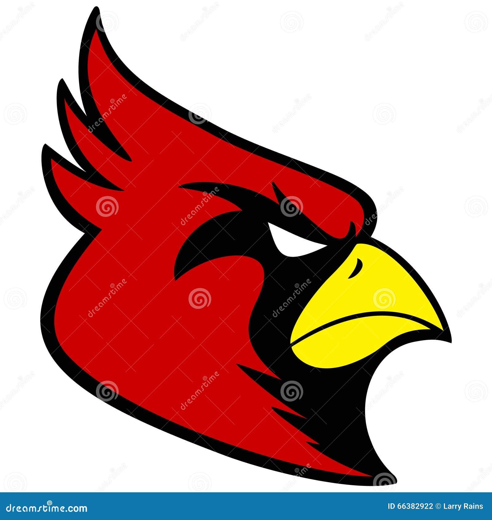 Cardinal Sports Mascot Stock Vector - Image: 66382922