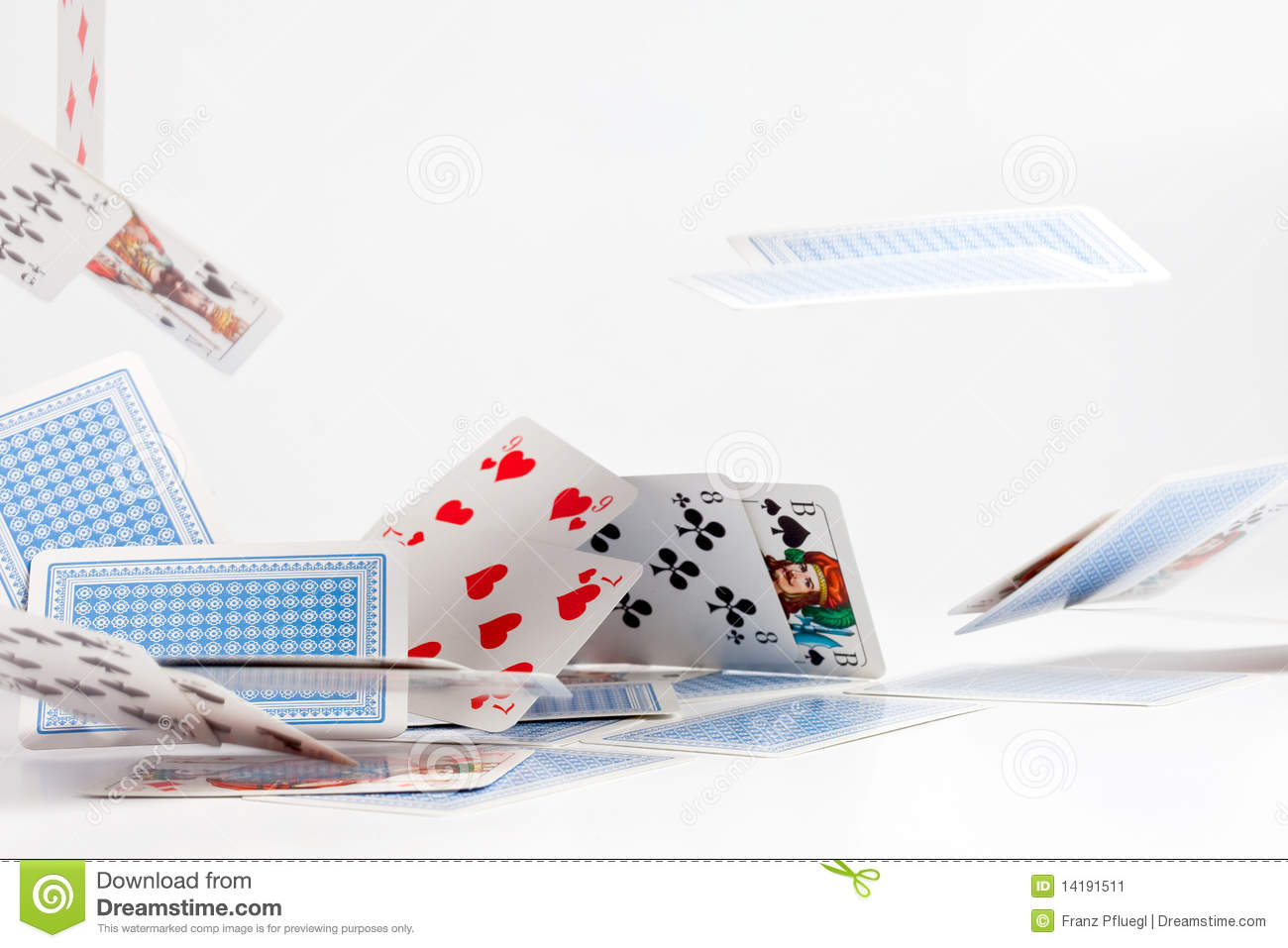 Cards From Heaven Stock Image - Image: 14191511
