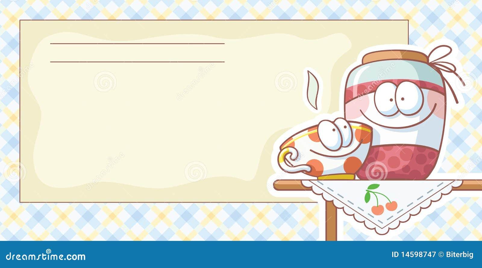 Cards matrecept royaltyfri fotografi bild 14598747 for Programas de dibujo de cocinas gratis
