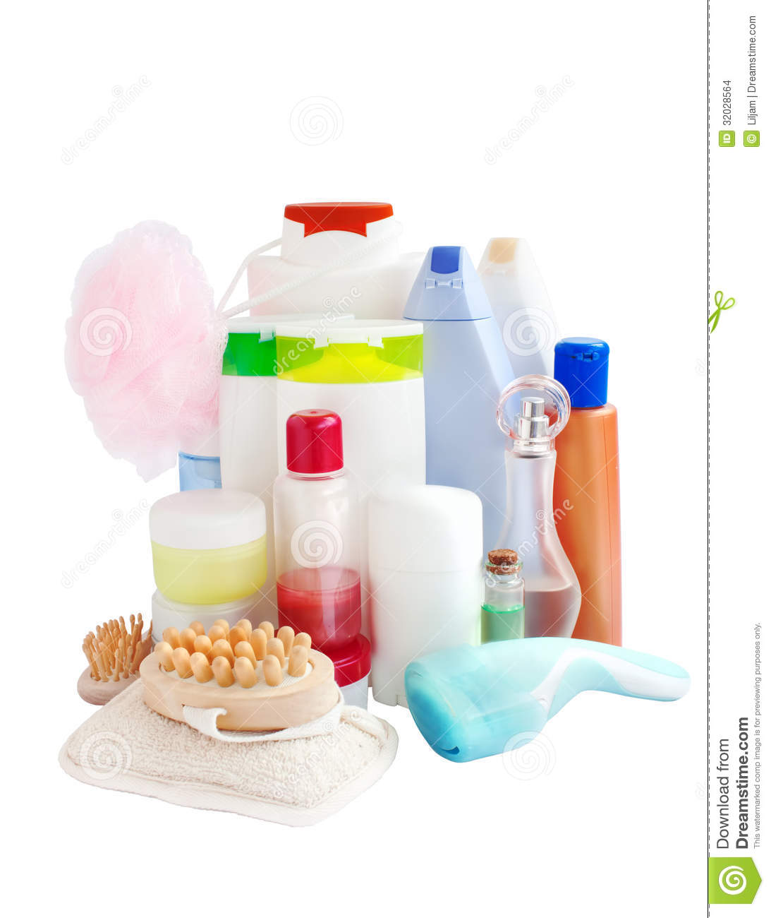 Download Care And Bathroom Products Stock Photo. Image Of Care   32028564