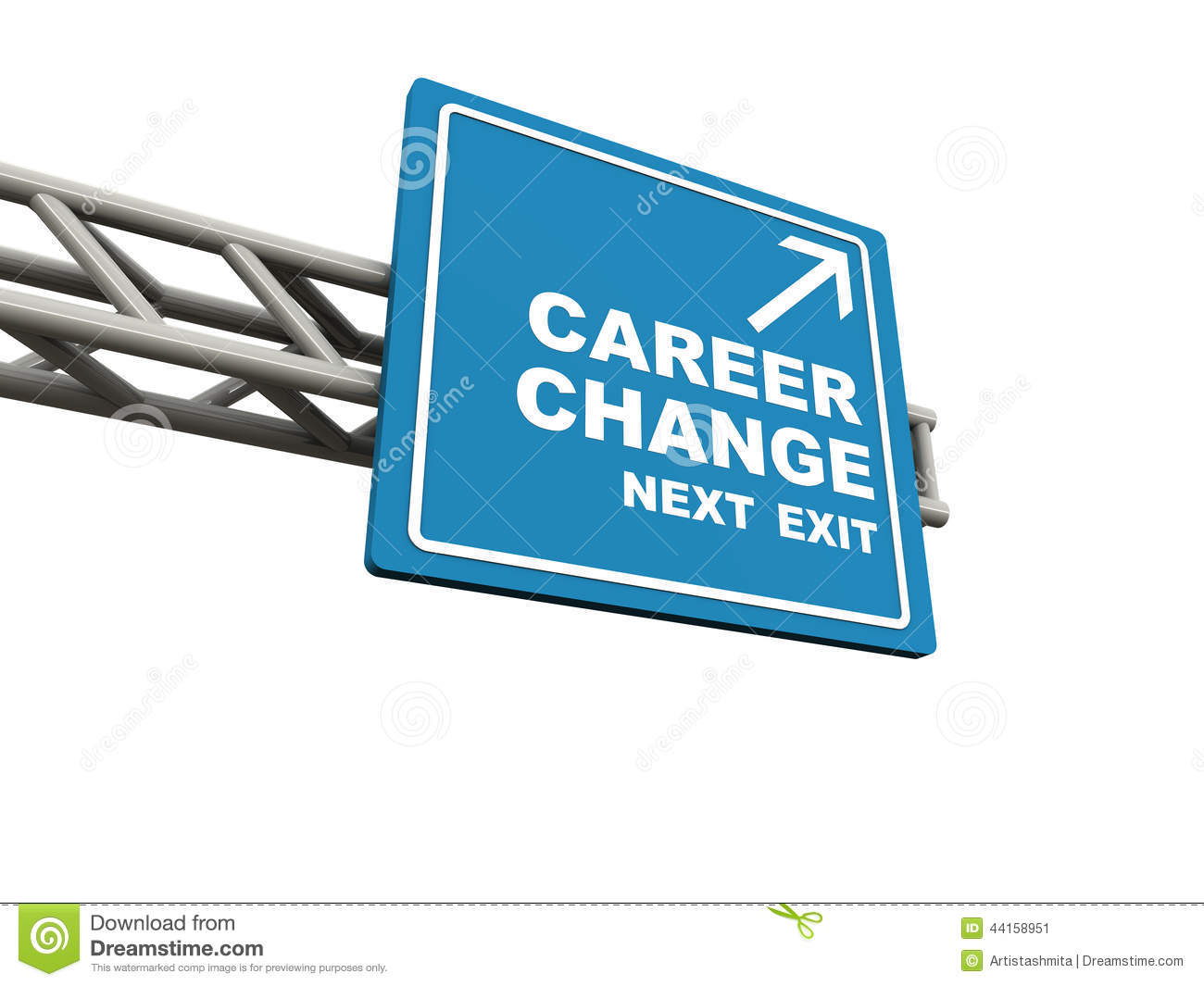 new job vs old job career change promotion better work stock career change stock image