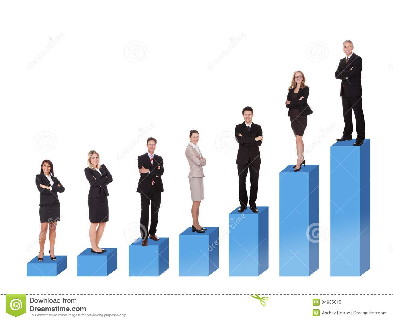 Career Ladder Royalty Free Stock Photo - Image: 34955015