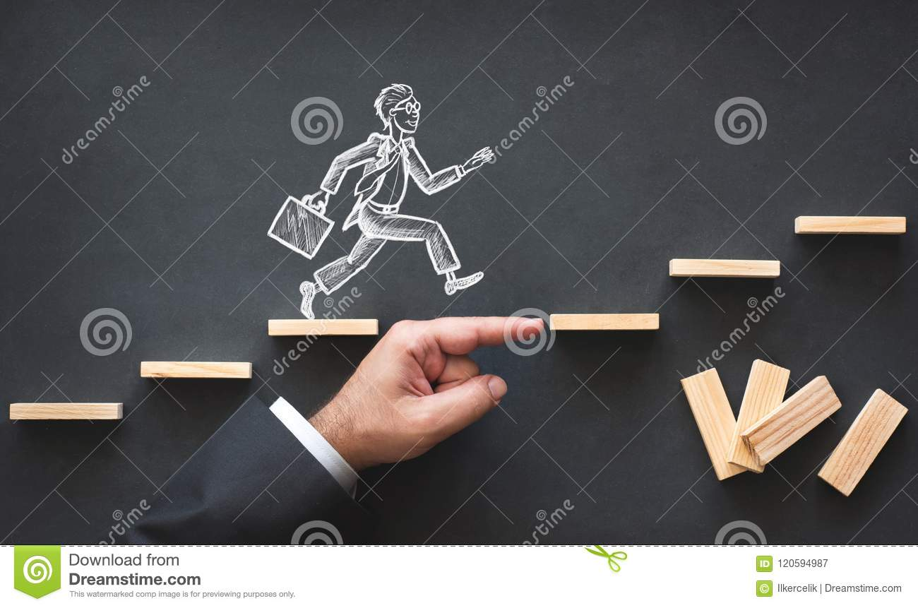 Download Career Planning And Business Challenge Concept Stock Image - Image of barrier, manager: 120594987