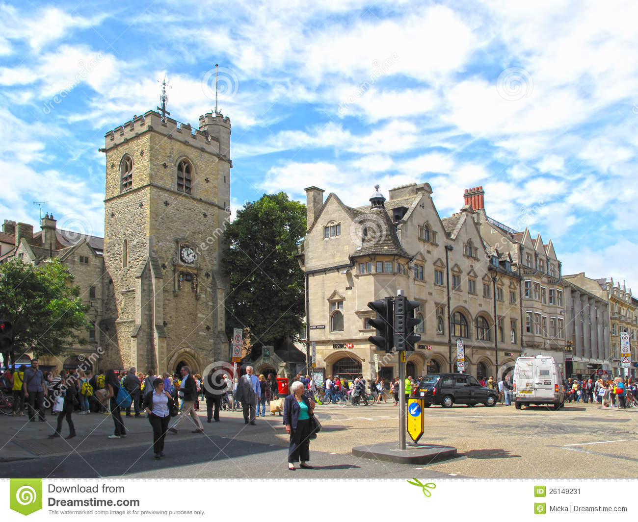 Carfax Tower In Oxford Editorial Photo Image Of Medieval 26149231