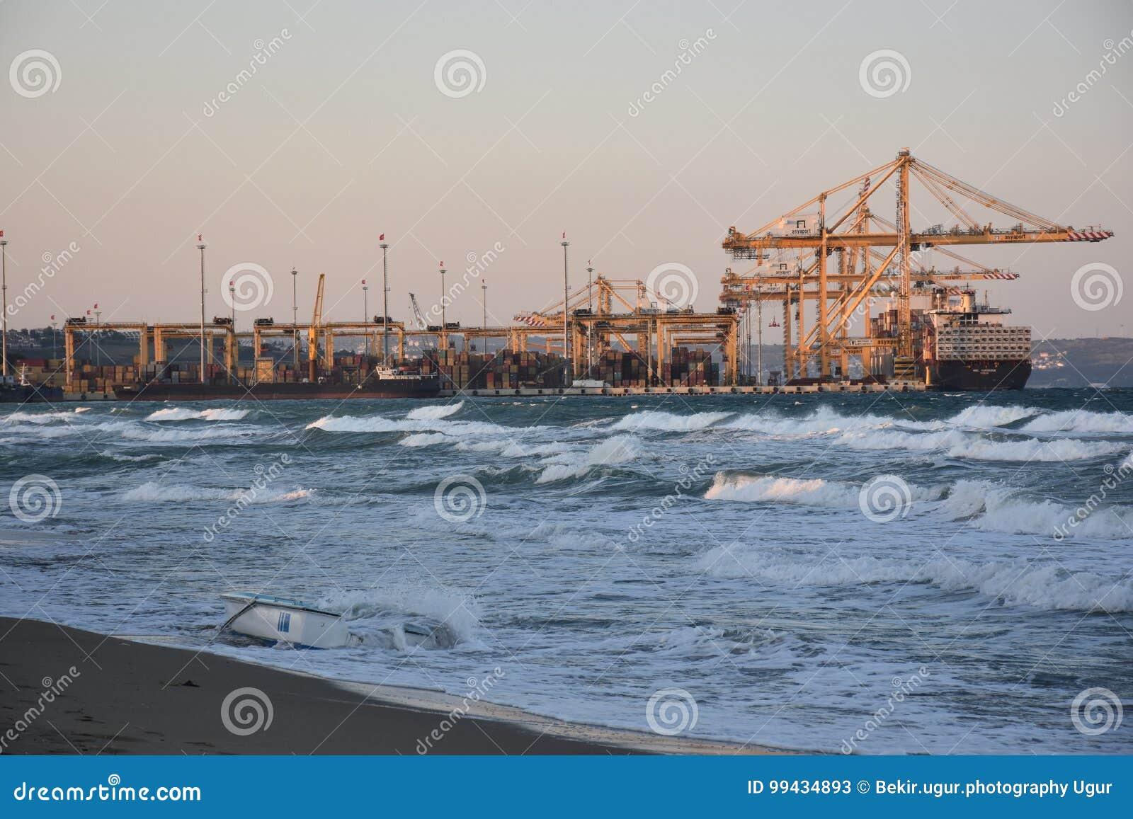 Carga de los buques de carga