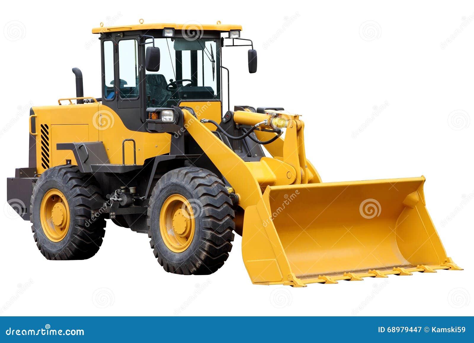 Cargador delantero del tractor