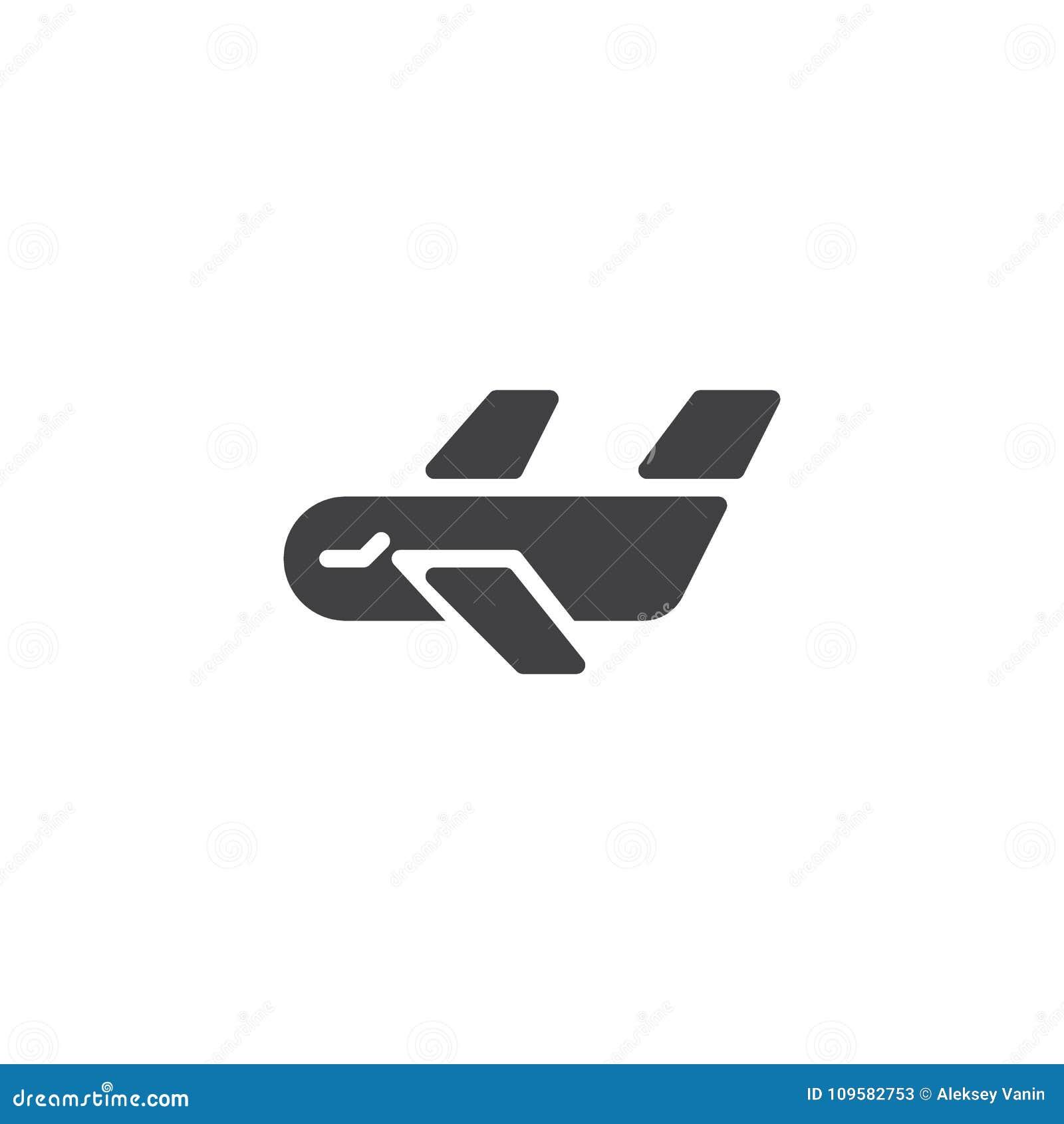 Cargo Airplane Icon Vector Stock Vector Illustration Of Icon