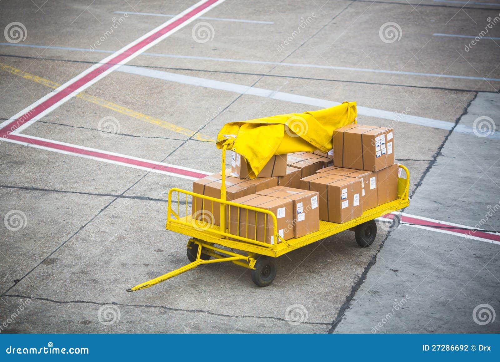 Cargo para un aeroplano