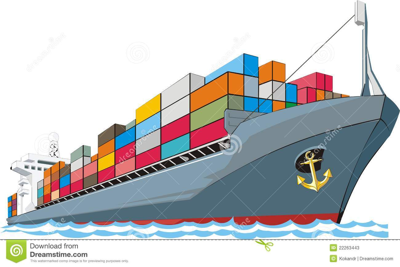 clipart container ship - photo #9
