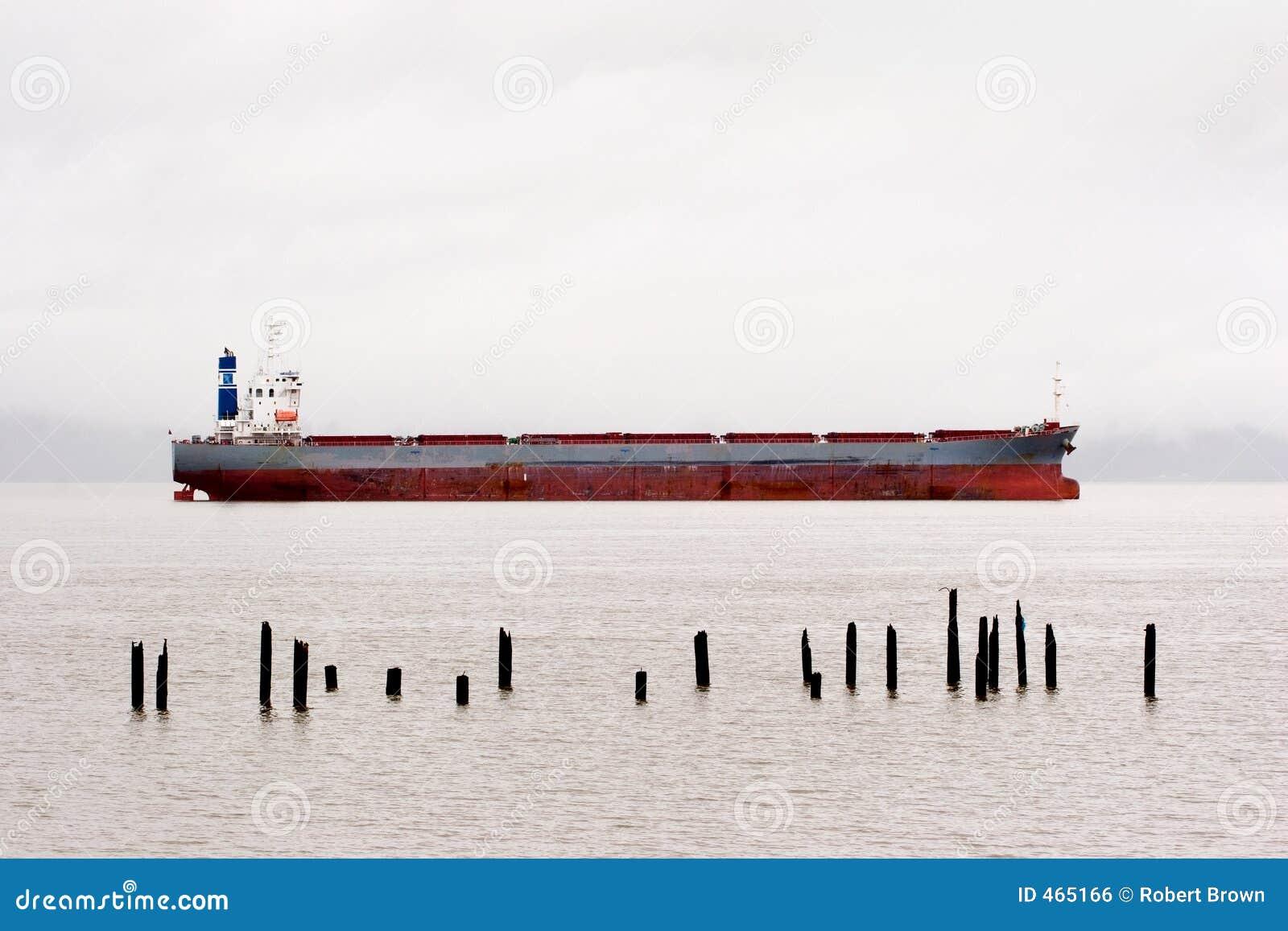 Cargo Ship, Columbia River