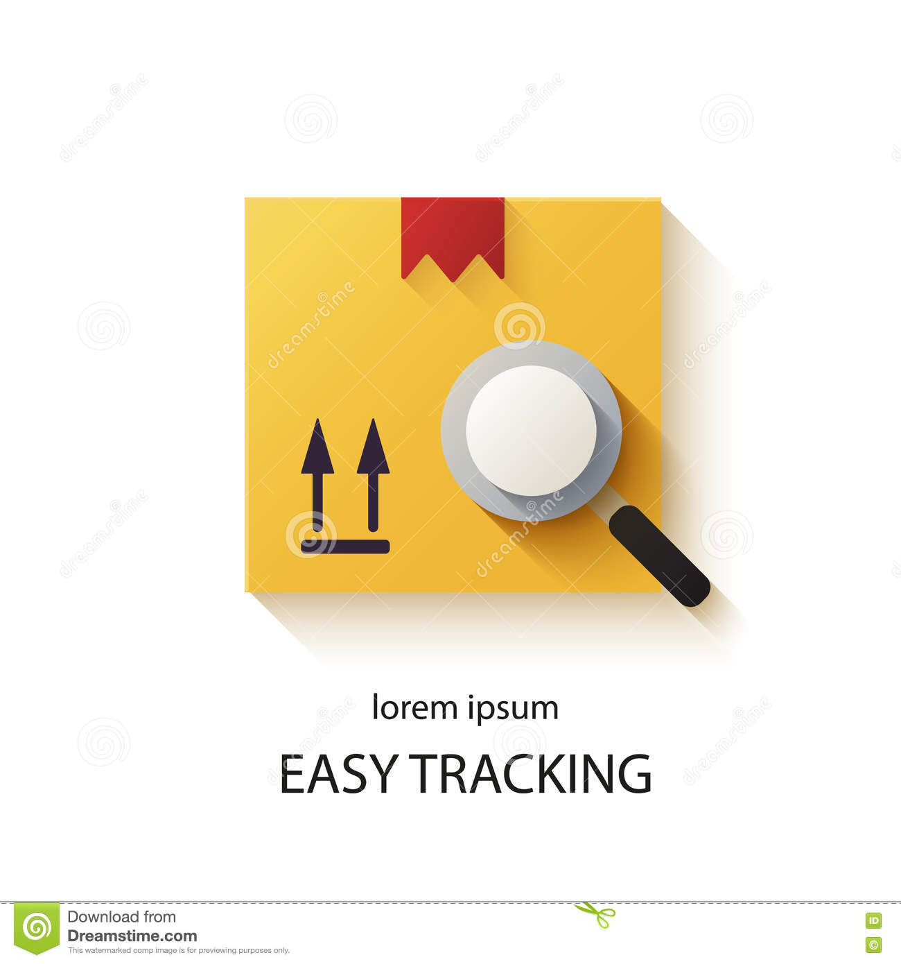 Cargo tracking logotype stock vector  Illustration of industrial
