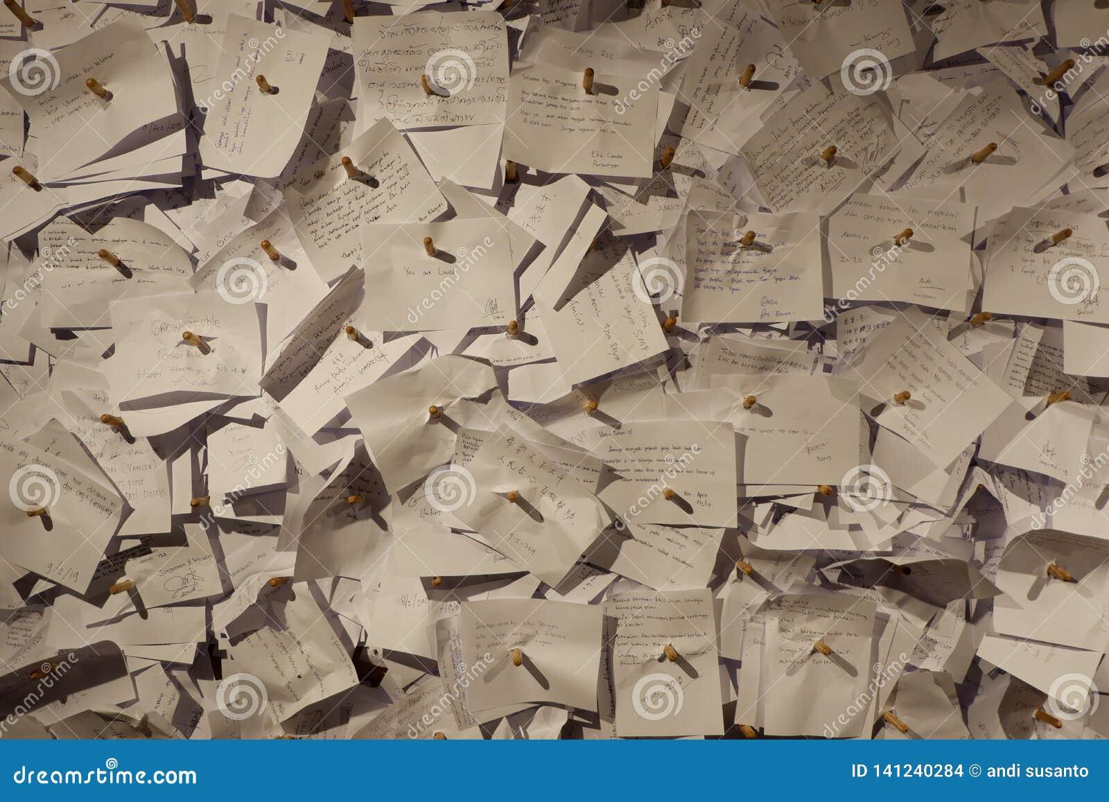 Cargos de escrita esperançosos para lembretes do life& x27; finalidade de s