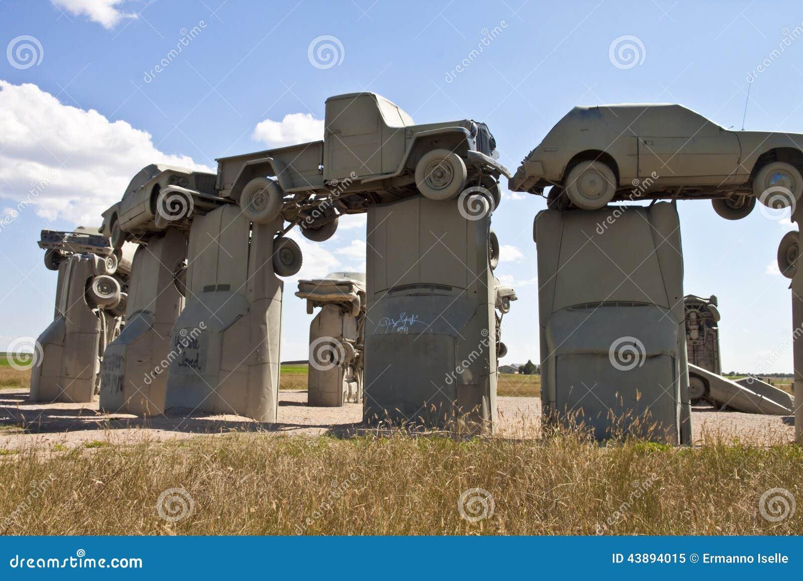 Carhenge,内布拉斯加美国